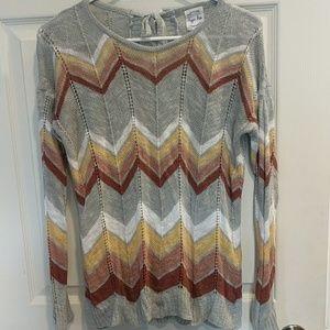 Hippie Rose Sheer Sweater